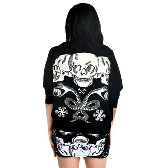 sweater women's TOO FAST - Shrug Cardigan - Baroque Skull - TOO003