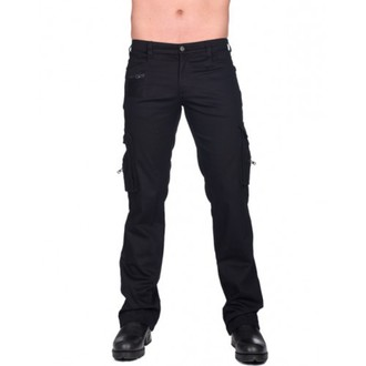 pants men BLACK PISTOL - Combat Pants Denim - (Black) - B-1-60-001-00