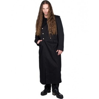 coat men's BLACK PISTOL - Army Coat Denim - BLACK - B-7-007-001-00