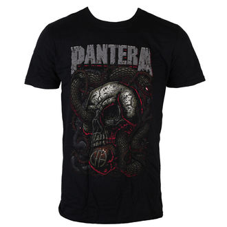 t-shirt metal men's Pantera - Serpent Skull - ROCK OFF - PANTS08MB