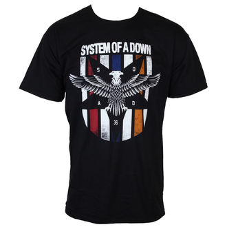 t-shirt men System Of A Down - Eagle Colours - ROCK OFF - SOADTS02MB