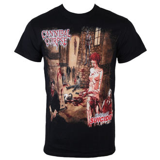 t-shirt metal men's Cannibal Corpse - Gallery Of Suicide - Just Say Rock - CNC1101