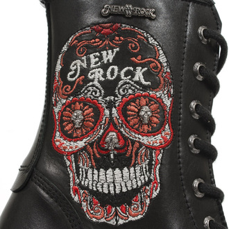 high heels women's - BORDADOS ROJO - NEW ROCK - M.TR048-S3