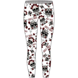 pants women (leggings) Guns n ' Roses - Skull & Roses - ROCK OFF - GNRLEG01