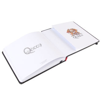 writing notepad Queen - Logo - ROCK OFF - QUNB01