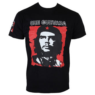 t-shirt men's Che Guevara - Red & White - HYBRIS - WS-1-11211-L14-BK