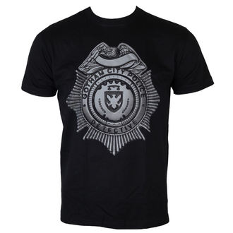film t-shirt men's Gotham - Detective Shield - HYBRIS - GHTM003