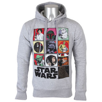 hoodie men's Star Wars - Panel Characters - LEGEND - MESWGRPSW059