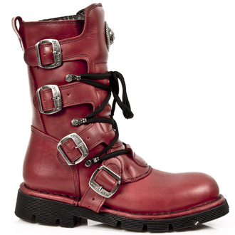 leather boots women's - NATURE ROJO, PLANING - NEW ROCK, NEW ROCK