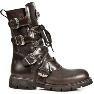 leather boots women's - NEW ROCK - M.1473-S8