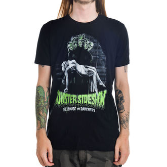 t-shirt gothic and punk men's - Monster Sideshow - TOO FAST - MTS-T-MSHOW