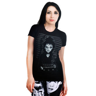 t-shirt gothic and punk women's - Babydoll - TOO FAST