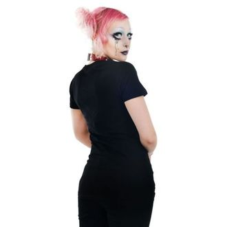 t-shirt gothic and punk women's - Sweet Vee - TOO FAST - WTSW-T-PENT