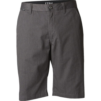 shorts men FOX - Essex Pinstripe - CHARCOAL HEATHER