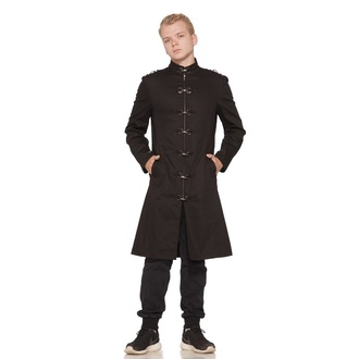 coat men's spring/fall HEARTS AND ROSES - Black Strait - 9532