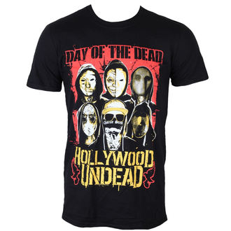 t-shirt men Hollywood Undead - DOTD Faces - PLASTIC HEAD - PH9613