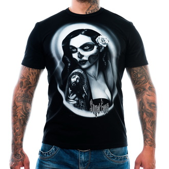 t-shirt men's - Sugar Face - ART BY EVIL, ART BY EVIL