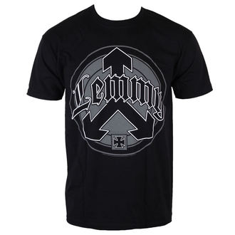 t-shirt metal men's Motörhead - Lemmy Arrow Logo - ROCK OFF - LEMTS04MB
