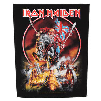 patch large Iron Maiden - Maiden England - RAZAMATAZ, RAZAMATAZ, Iron Maiden