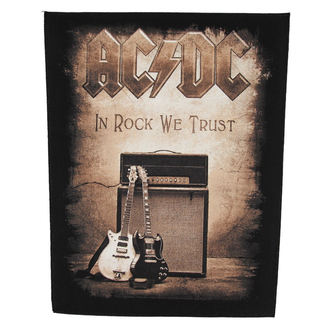patch large AC / DC - In Rock We Trust - RAZAMATAZ, RAZAMATAZ, AC-DC