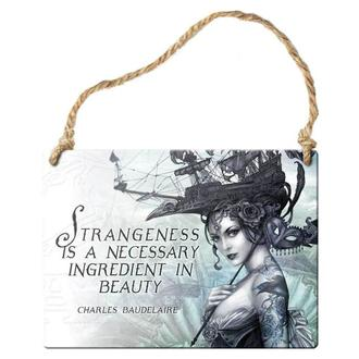 hanging plaque ALCHEMY GOTHIC - strangeness Is A Necessary Ingredient, ALCHEMY GOTHIC