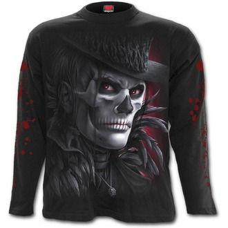 t-shirt men with long sleeve SPIRAL - Day Of The Goth - D066M301