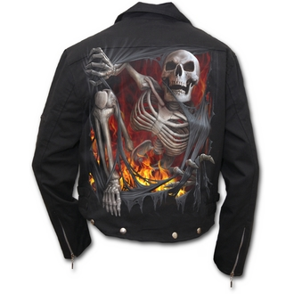 spring/fall jacket men's - Death Re-Ripped - SPIRAL - T110M651