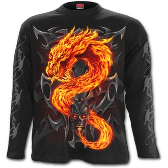 t-shirt men's - Fire Dragon - SPIRAL - T112M301