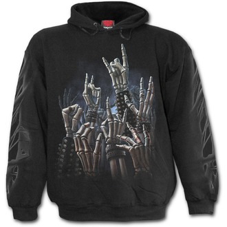 hoodie men's - Rock On - SPIRAL - T124M451