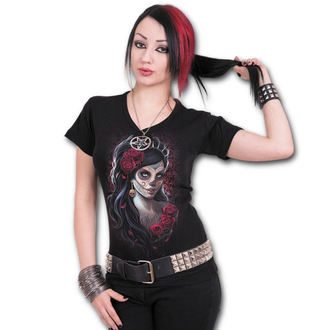t-shirt women's - Day Of The Dead - SPIRAL - K026F737