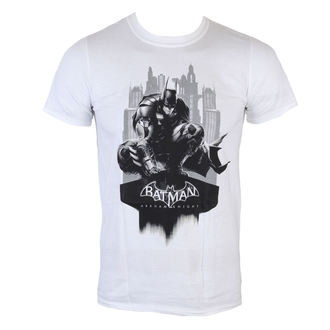 t-shirt men Batman - Arkham Knight - Skyline - White - LIVE NATION - PE11933TSWP