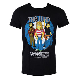 t-shirt metal men's Who - The Who Bullseye (Simpsons) - LIVE NATION - PE11234TSBP