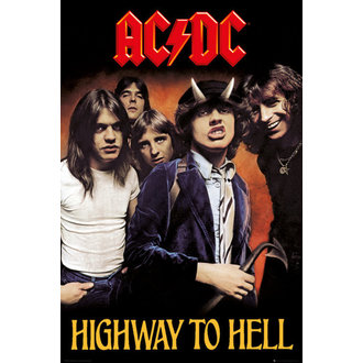 poster AC / DC - Highway To Hell - GB posters - LP2038