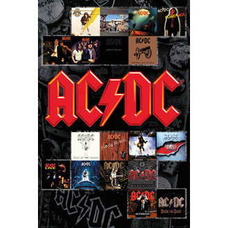 poster AC / DC - Covers - GB posters - LP2034