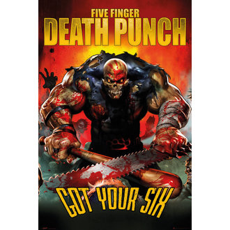 poster Five Finger Death Punch - Got Your Six - GB posters - LP1980