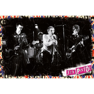 poster Sex Pistols - On Stage - GB posters, Sex Pistols