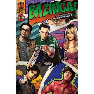 poster Theory the Great bang - Comic - GB posters - FP2794