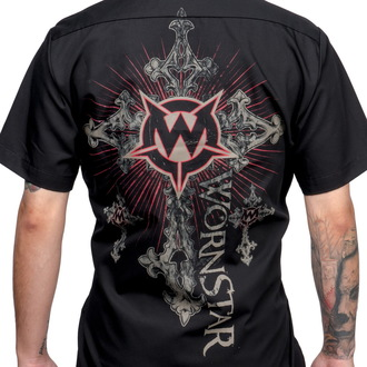 shirt men WORNSTAR - Sacred - Black - WSS-Sacre