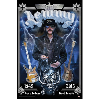 poster Lemmy - Born To Lose - GB posters - LP2051