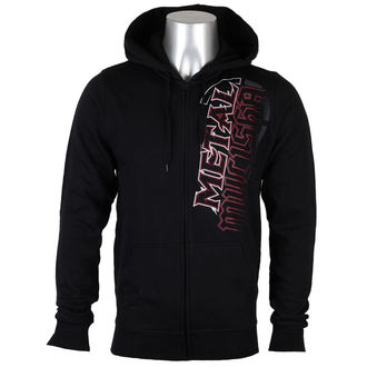 hoodie men's - PATH - METAL MULISHA - BLK_SP6522000.01