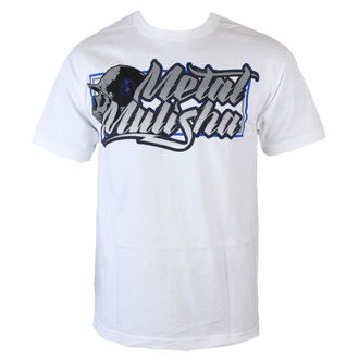 t-shirt street men's - LETTER - METAL MULISHA - WHT_SP6518036.01