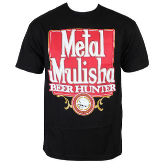 t-shirt street men's - BEER HUNTER - METAL MULISHA - BLK_SP6518013.01