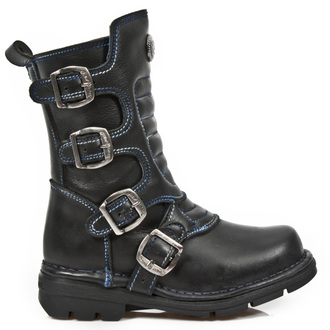 leather boots children's - ROADSTAR NEGRO - NEW ROCK - M.KID373-S2
