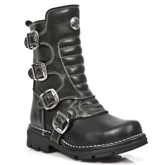 leather boots children's - ITALI NEGRO- ROADSTAR - NEW ROCK, NEW ROCK