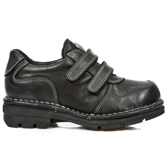leather boots children's - ROADSTAR NEGRO - NEW ROCK - M.KID005-S1