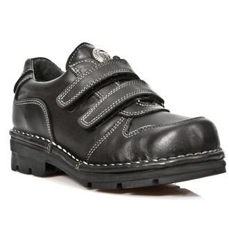 leather boots children's - ROADSTAR NEGRO - NEW ROCK, NEW ROCK