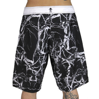 swimsuits men (shorts) SULLEN - Slab - Black / White, SULLEN