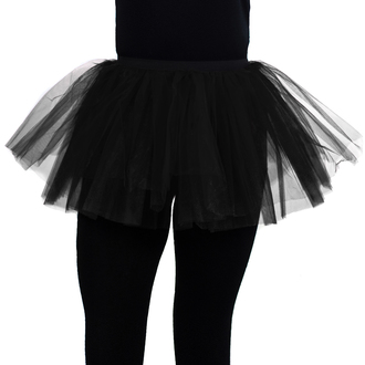 skirt women's POIZEN INDUSTRIES - Cor Midi Tutu- Black, POIZEN INDUSTRIES