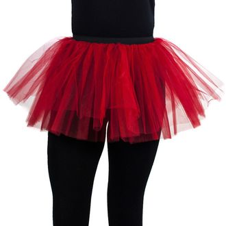 skirt women's POIZEN INDUSTRIES - Cor Tutu - Red - POI069