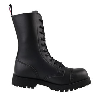 boots NEVERMIND - 10 eyelet - Vegan - Black Synthetic